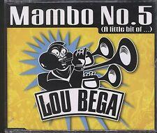 Lou Bega - Mambo No 5 CD (single) post free