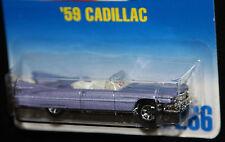 Hot Wheels '59 Cadillac Collector # 266 Light Purple 7sp