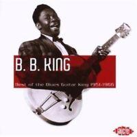 B.B. KING - BEST OF THE BLUES GUITAR KING 1951-1966  CD NEW!