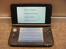 Red & Black Nintendo 3DS XL