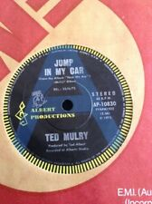 """TED MULRY A RADIO PROMO JUMP IN MY CAR 45 7"""" ALBERT PRODUCTIONS T.M.G. TMG 1975"""