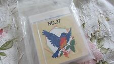 Nice Brother/Babylock machine embroidery card No 27 BIRDS w/TEMPLATES Very Nice