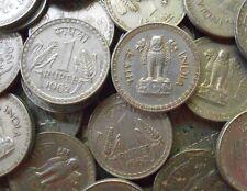 50 Coins LOT - 1962 - 1 Rupee Nickel – 10 g – ø 28 mm - india