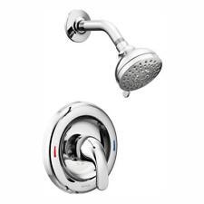 MOEN Adler Single-Handle 4-Spray Shower Faucet with Valve in Chrome
