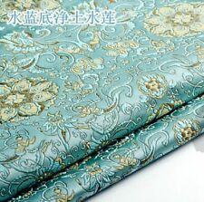 Brocade Fabric Imitated Silk Jacquard Floral Upholstery Furnishing DIY Design