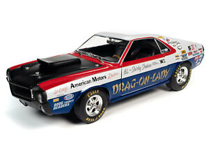 """1/18 SCALE, 1969 AMC AMX S/S """"DRAG-ON-LADY"""", PLEASE READ, LOWER PRICE!"""