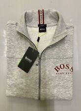 Mens Hugo Boss Jumpers Zippers Grey Size XXL Long Sleeves