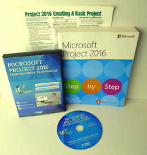 Microsoft Project 2016 Simon Sez It DVD Step by Step Book and Template LOT 3