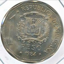 Dominican Republic, 1984(MO) One Peso - Choice Uncirculated