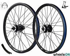 20 inch wheelsON Front Rear Wheel Set 7/8/9 Speed Disc Brake QR 32H Folding Bike