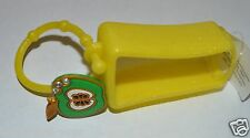 Bath & Body Works Yellow Green Apple Charm Pocket Bac Holder Gel Sanitizer