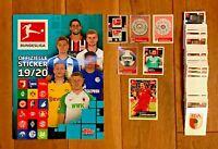 Topps Bundesliga Sticker 2019/2020 - 10/20/30/50/100 aussuchen aus 295 - 19/20