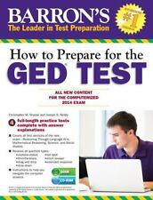 How to Prepare for the GED® Test (with CD-ROM): All New Content for the