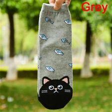 Frutas calcetines mujeres adorable animal gato huella perro calcetH5