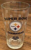 Steelers Super Bowl Champions Super Bowl XLIII NFL Embossed 16oz Glass