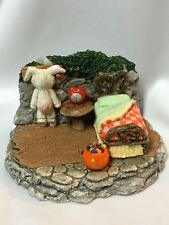 Mouse Bedroom Display by Habitat Hideway for Wee Forest Folk WFF not Included