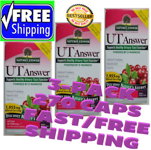 Natures Answer UT Answer Healthy Urinary Tract Function 270 Caps FREE SHIPPING!!