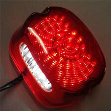 LED RED Tail Light Harly Softail Sportster Road King Dyna Electra Glide Fat Boy
