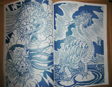 "The Oriental Japanese Style Tattoo Flash Book 11"" Demon Ghost Tortoise"