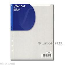 Filofax 343612 Porte-photo ouverture Haut A5 Transparent