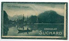 CHROMO  CHOCOLAT SUCHARD LAC ANNECY  10.1CM/5.9CM