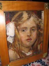 SCHWEIZER Alfred, *1882 Wundervolles Mädchenportrait