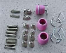 Düsen Brenner Set 26 Teile, Einsatze  für Plasmaschneider bis 60A,