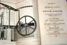 PARTINGTON-STEAM ENGINE-1822-AUDOIN DOLLFUS-PLANCHES LOCOMOTIVE A VAPEUR