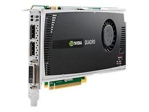 HP NVIDIA Quadro 4000 (WS095AA) 2GB GDDR5 SDRAM PCI Express x16 Graphics adapter