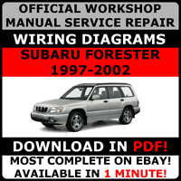 # OFFICIAL WORKSHOP SERVICE Repair MANUAL SUBARU FORESTER 1997-2002 +WIRING#