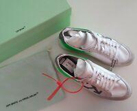 NWB OFF-WHITE Arrow 2.0 leather  white sneakers women size 40