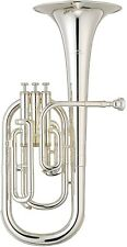 YAMAHA Alto Horn Eb 3 Piston Top Action YAH-203S Silver-Plated