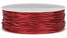 The Gift Wrap Company Tinsel Cord Ribbon, Red (16060-03)