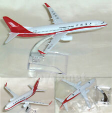 China Shanghai Airlines BOEING 737 Airplane 16cm DieCast Plane Model