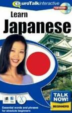 Talk Now! Japanese PC CD learn foreign language words phrases vocabulary speech