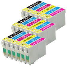 18 Ink Cartridges for Epson Stylus Photo R220 R320 R340 RX300 RX500 RX620