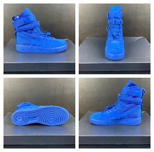 Nike SF Air Force 1 High 'Game Royal' Blue Shoes [864024-401] Men's Sz 11
