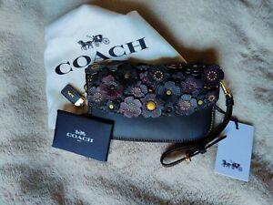 Coach 1941 Tea Rose Clutch in Black 58181