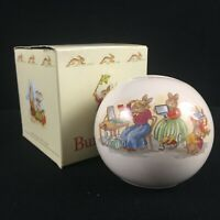 VTG 1988 Coin Bank by Royal Doulton Bunnykins Mom Getting Ready Made in England