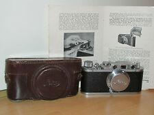 Leica II-LEITZ-CROMO 1939-obiettivo ELMAR F = 5cm 1:3,5 con Borsa