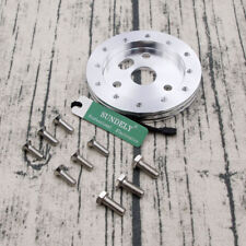 STEERING WHEEL ADAPTOR TO SUIT 6 HOLE BOSS KIT SUITS GRANT HUB ADAPTER SILVER