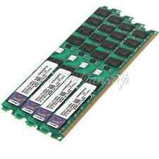 Memory RAM 8GB 4x2GB DDR2 800MHz PC2 6400 240 Pins Dimm For AMD Motherboard CPU