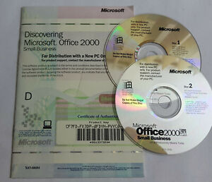 Microsoft Office 2000 Small Business - Englisch - inkl. MwSt