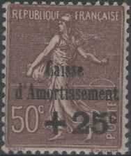 "FRANCE STAMP TIMBRE N° 267 b "" CAISSE AMORTISSEMENT VARIETE "" NEUF xx TTB K232"