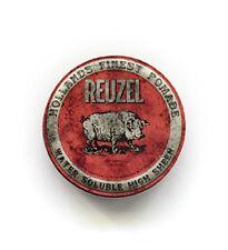Reuzel – Cera effetto lucido Water Soluble Pomade Rossa per Capelli 113 G