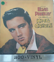 ELVIS PRESLEY~KING CREOLE LP SF 8231 (FRENCH ISSUE) EX / VG