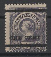 G129766/ NEWFOUNDLAND / CANADA / SG # 80 MINT MH – CV 105 $