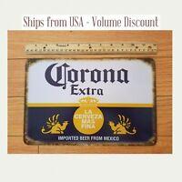 Corona Sign Vintage Corona Man Cave Sign Corona Extra Tin Corona Metal Signs Art