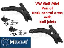 MEYLE HD TRACK CONTROL ARM PAIR WITH BALL JOINTS BORA GOLF MK4 INC 1.8T GTI V5