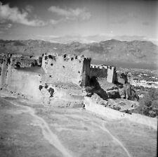 TORTOSA c. 1950 - Château Remparts Espagne - Négatifs 6 x 6 - ESP 364